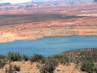 Lake Powell water level